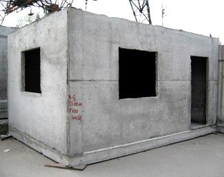 Залізобетонні блок-кімнати для дачних будинків